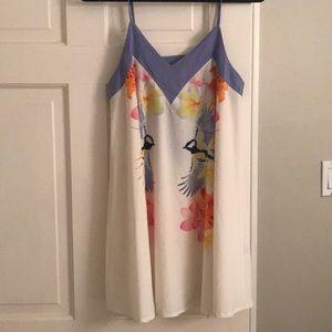 LF women's bird dress